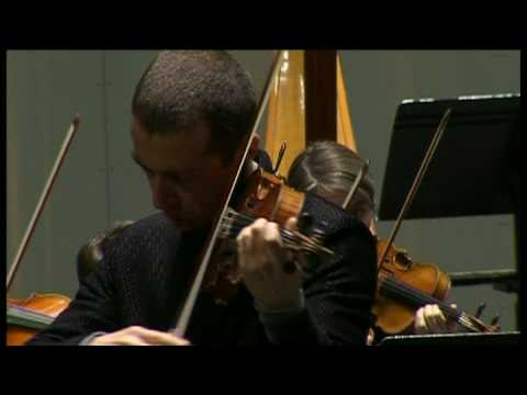 Tedi Papavrami plays Brahms Concert for  violin in D dur