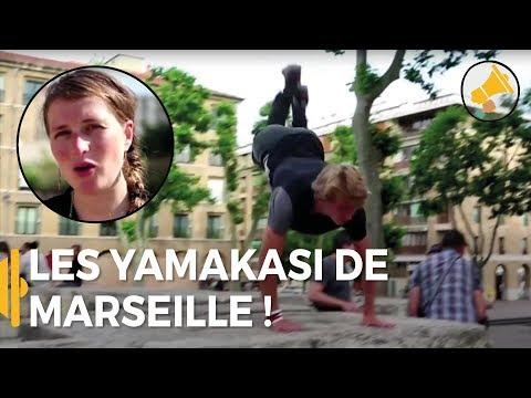 Parkour : Les yamakasi de Marseille - Coline en France - Les Haut-Parleurs -#SPORTS
