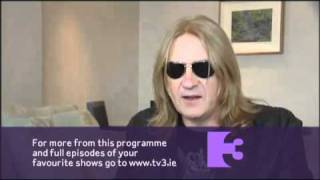 Anna Daly meeting Joe Elliot (Def Leppard) - Interview | Ireland AM