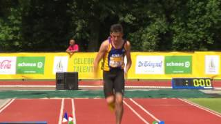 EYOF2013 ATHLETICS (B) LONG JUMP