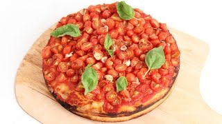 Homemade Deep Dish Tomato Pie Recipe