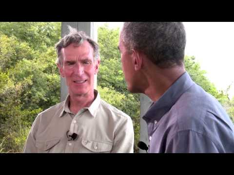 Bill Nye's Science Conversation With Obama - Full Video