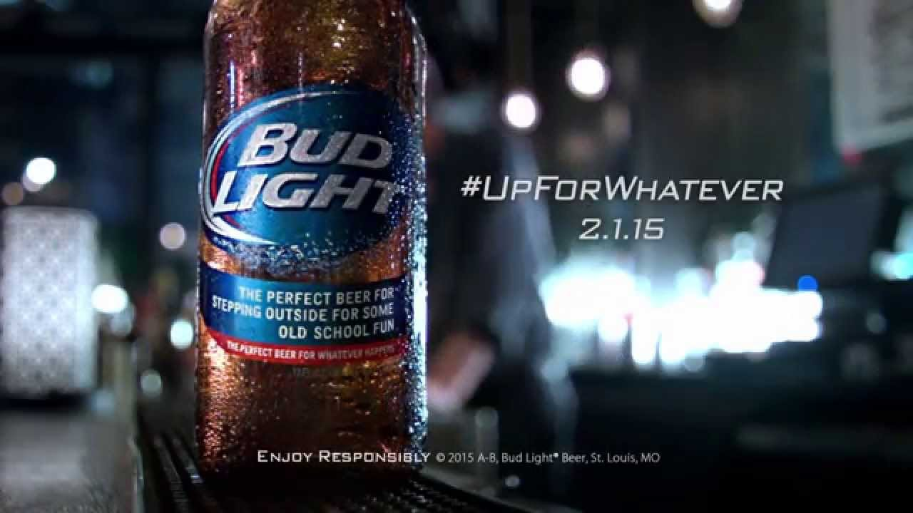 Bud light superbowl centralroots super bowl xlix 2017 commercial real life pacman by bud light aloadofball Image collections
