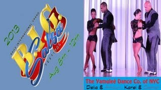 BIG Salsa Festival 2013 | Yamuleé Dance Co. of New York | Salsa Performance (Fri)