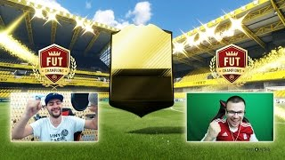 FIFA 17 OMG WALKOUT!!! FUT CHAMPIONS WEEKLY ELITE REWARDS - INCREDIBLE ULTIMATE TEAM PACK OPENING