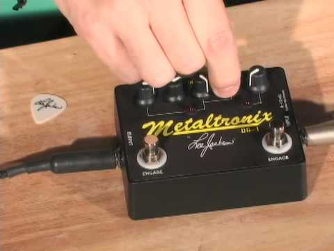 Lee Jackson Metaltronix DG1 Demo