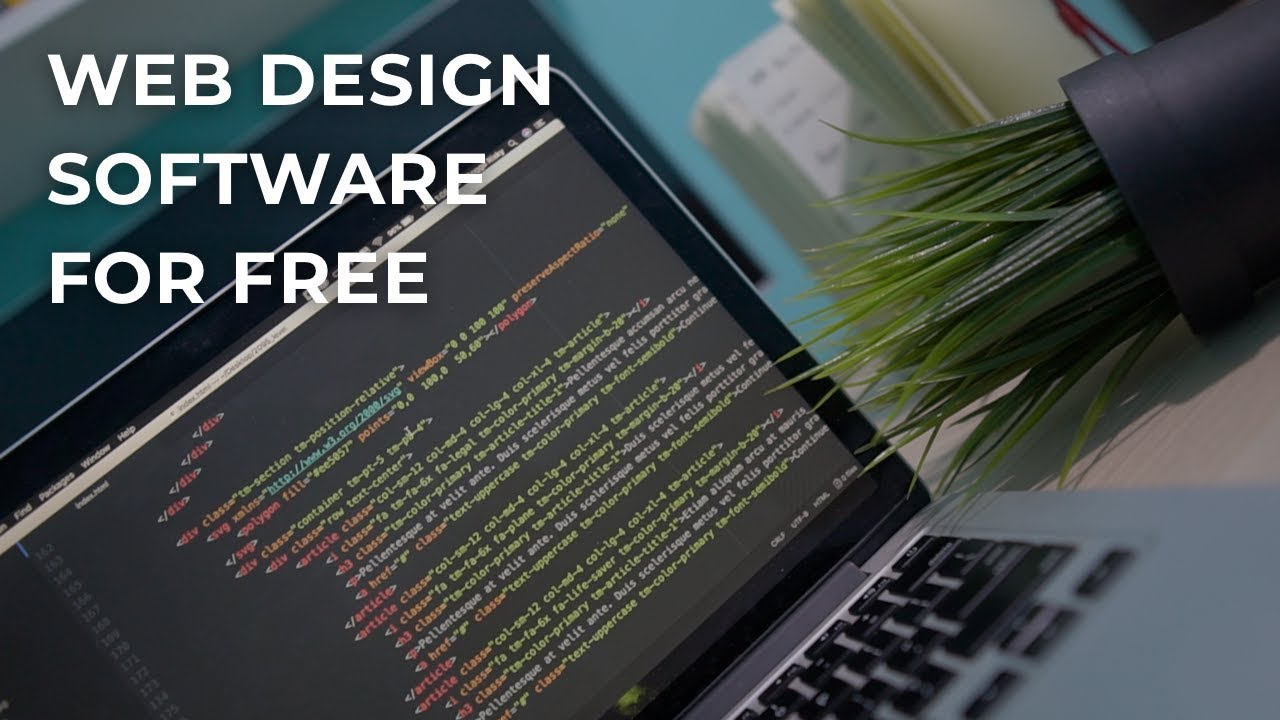 Best 6 Free Web Design Software To Help You Build A Website Youtube