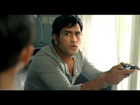 Jas khetani in gulf oil with DHONI