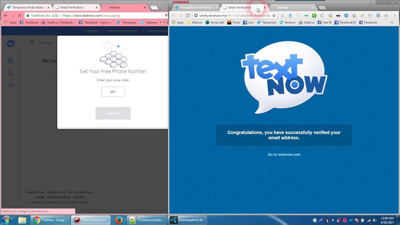 how to textnow account create easy way