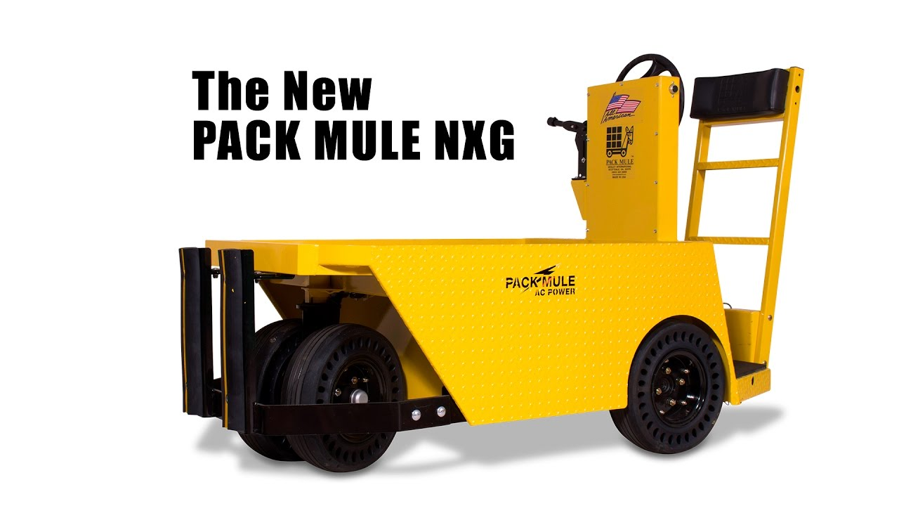 Pack Mule: Electric Utility Vehicles | Pack Mule