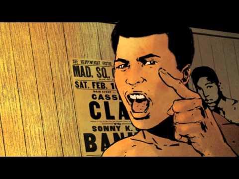 MUHAMMAD ALI - trailer BD - Le Lombard