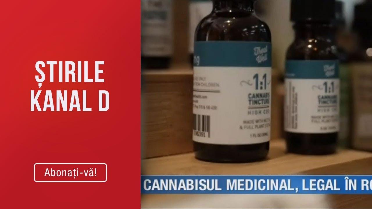 Info CBD - Stirile Kanal D (05.03.2019) - Cannabisul medicinal, legal in Romania!