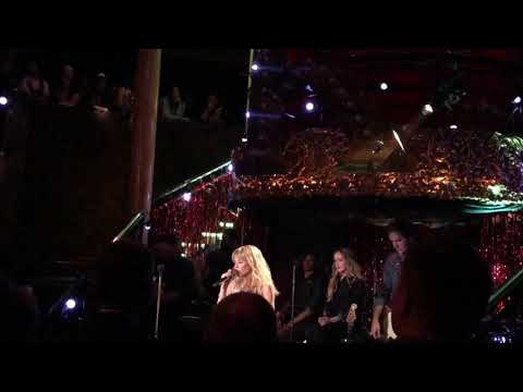Radio On Kylie Minogue (from Golden) live cafe de Paris London