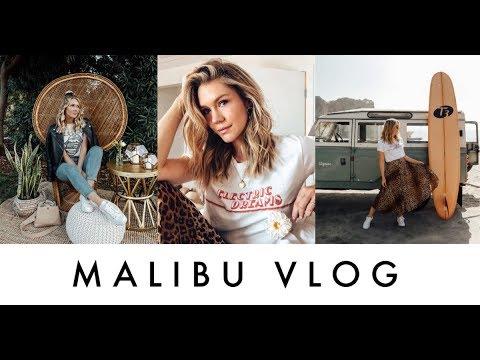 MALIBU VLOG | T3 Micro | Surfrider Hotel