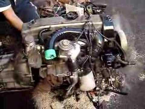 Jdm Mitsubishi 4d56 T Auto Diesel Used Engine Youtube