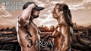 aj styles vs shawn michaels not happening styles pulled from live events   wrestling report