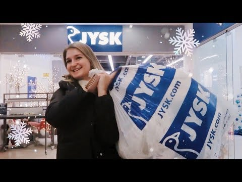 VLOG Новогодние ПОКУПКИ в JYSK ❄️ 🎁
