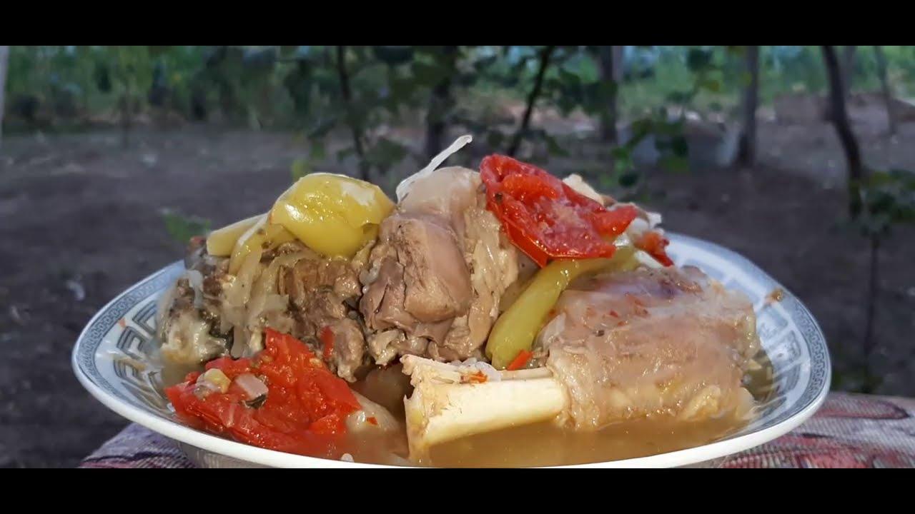 En dadli buglama (kelepur) resepti | Easy Lamb Stew - bughlama | Азербайджанская БУГЛАМА
