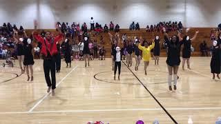 Pink Dance Stoppers Creative Halloween dance (majorette dance)