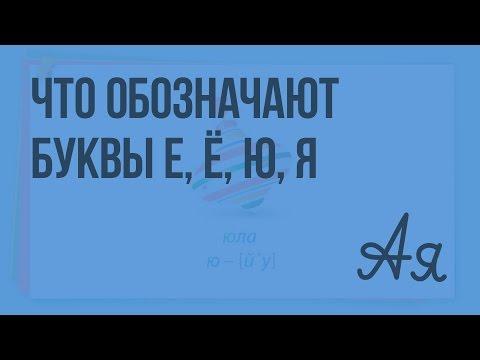 Как звуки обозначают буквы