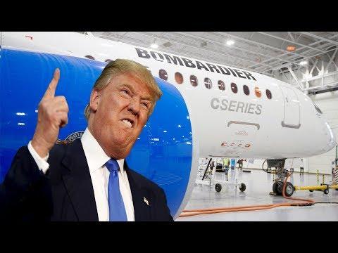 U.S trade body backs Canadian plane maker Bombardier against Boeing