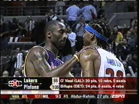 2004 Detroit Pistons Vs Los Angeles Lakers Regular