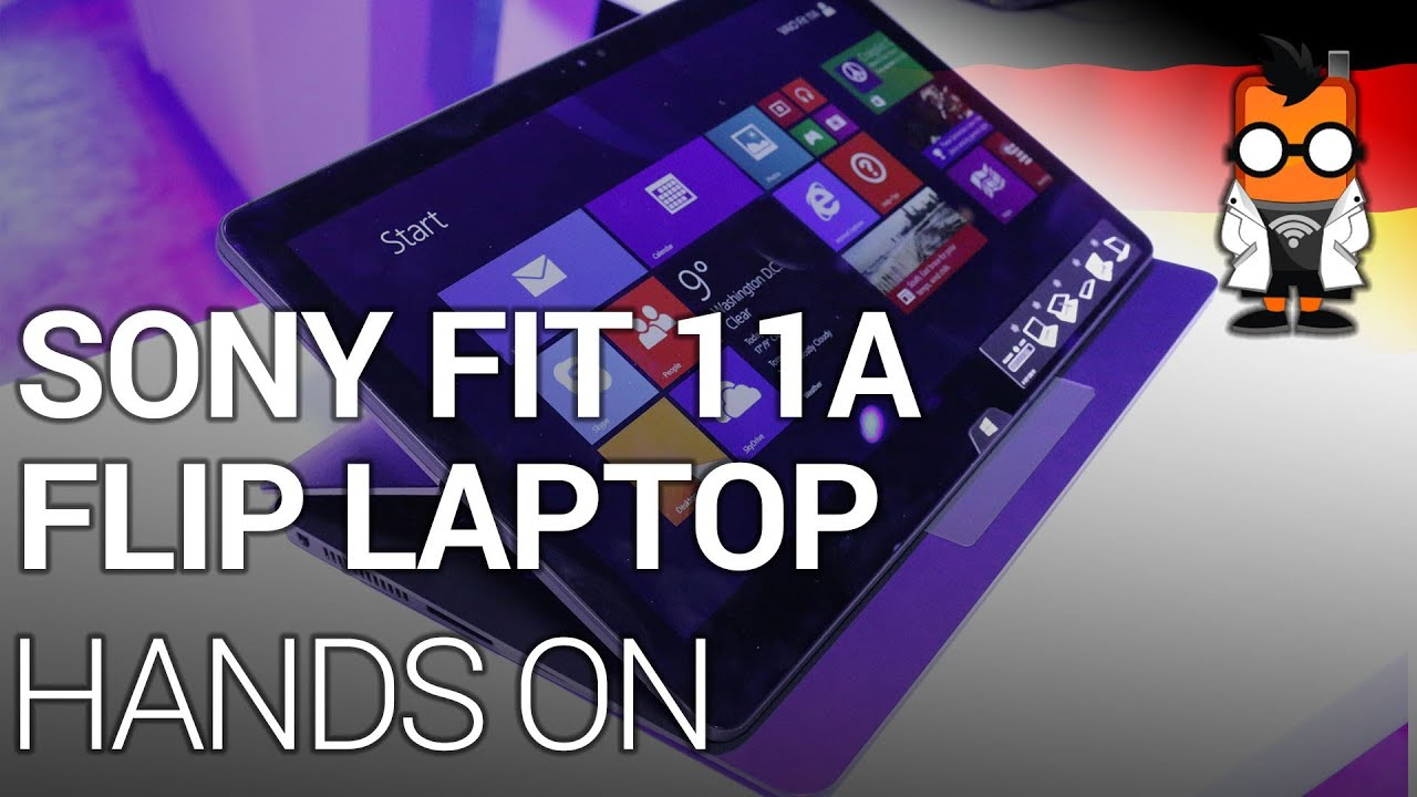 Sony VAIO Fit 11A 2-in-1 Tablet/Laptop mit Intel