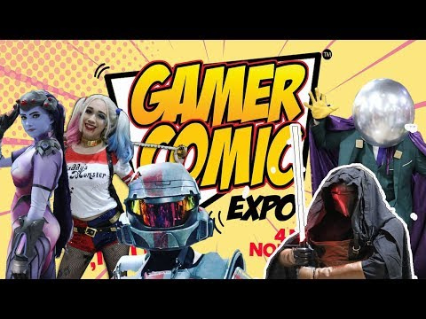 Cosplay of Gamer Comic Expo 2018 (Miami, Florida) -