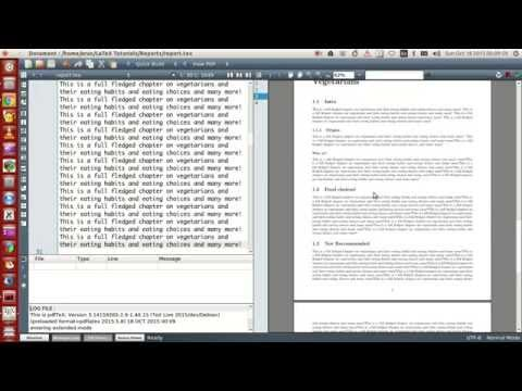 How to LaTeX a Y  lab report   YouTube