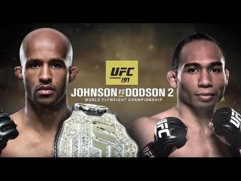 UFC 191: Johnson vs Dodson 2 - Extended Preview