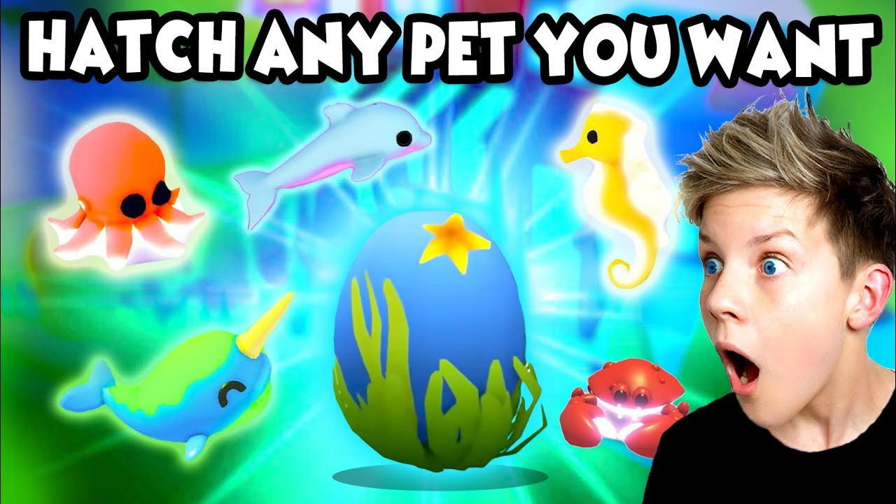 Download 100% WORKING HACKS!! Get ANY OCEAN PET You Want in Roblox Adopt Me!