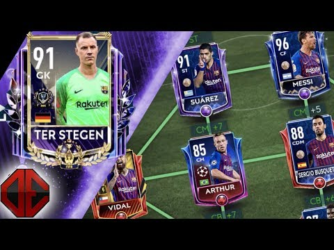 Best Barcelona Special Card Squad Builder in FIFA Mobile 19! 100 Million Coin Shopping Spree!