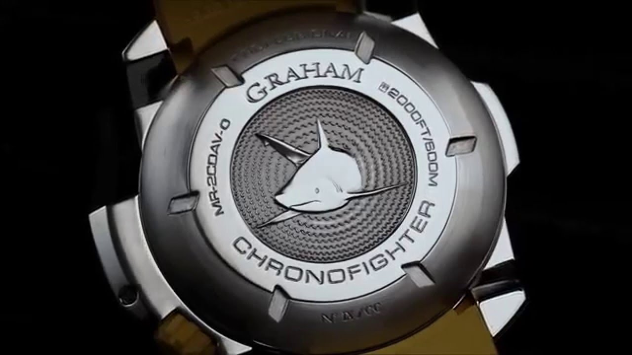 aa458e3c67f Graham Watch Chronofighter Prodive Professional Limited Edition ...