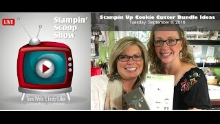 The Stampin Scoop Show Episode 18 - Stampin Up Cookie Cutter Ideas & New Giveaway