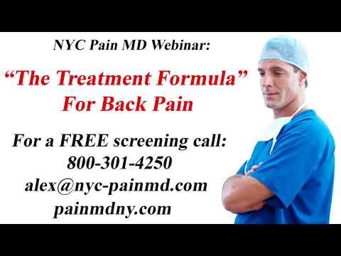 Back Pain The Treatment Formula NYC Pain MD