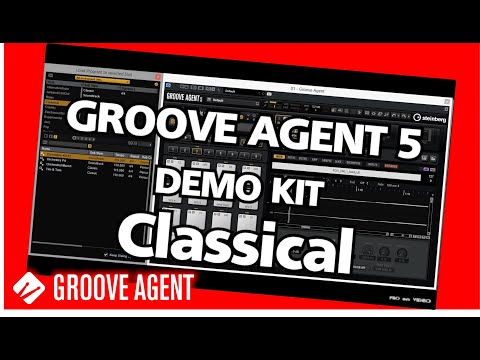 GROOVE AGENT 5 - Demo Classical Kit