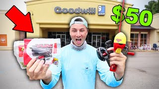 $50 GoodWill Fishing Challenge (Crazy Finds!)