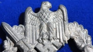 WW2 German Infantry Assault Badge - Hermann Aurich