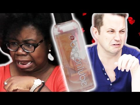 People Try Flavored Lubes