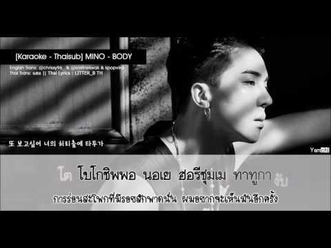 [Karaoke - Thaisub] BODY (몸) - MINO