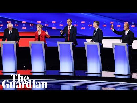 Sanders and Warren against the rest in Democratic debate