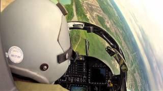 CF-18 Hornet Tour: Pilot Interview and HD Cockpit Video