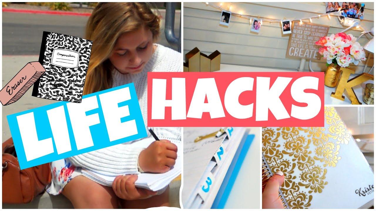 50 Back to School Study Hacks You Need to Try!!! | Daniela ...