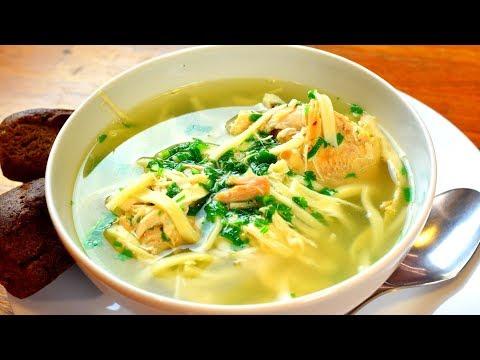 Куриный суп с секретом! Пальчики оближешь!   Готовить просто с Люсьеной