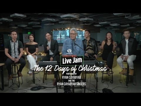 'The Twelve Days Of Christmas,' performed by Ryan Cayabyab with the Ryan Cayabyab Singers