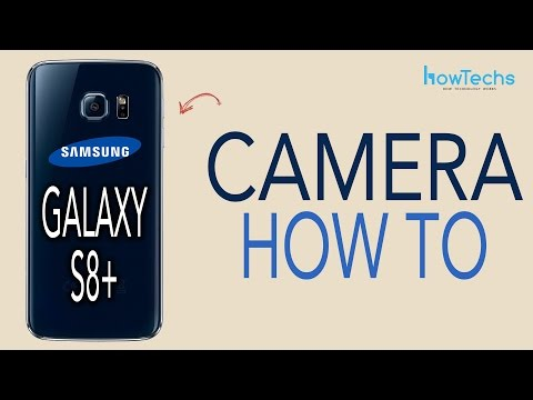 Samsung Galaxy S8/S8+ - How to Use the Camera