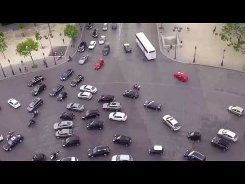 The Craziest Roundabout in Europe - Arc de Triomphe in Paris