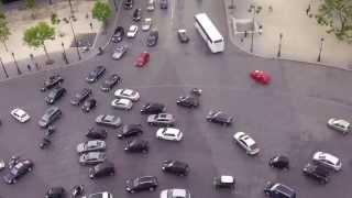 The Craziest Roundabout in Europe - Arc de Triomphe in Paris