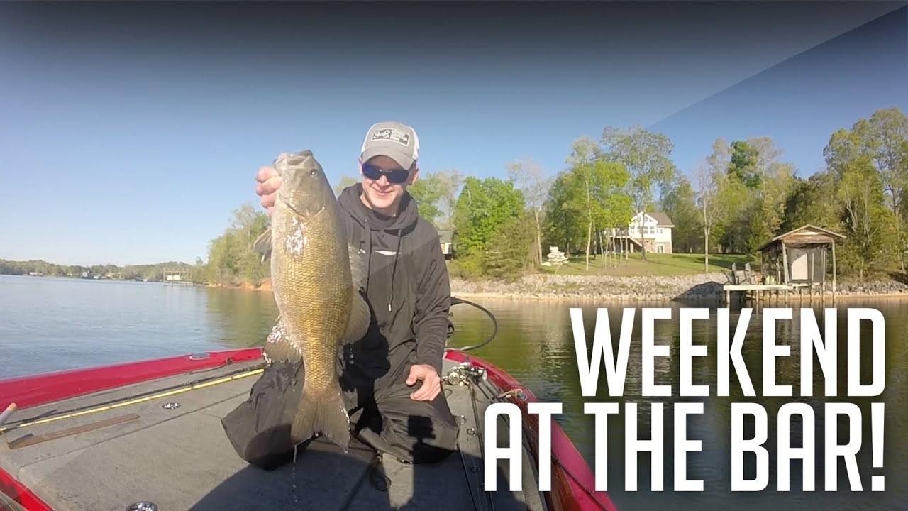Big smallie bass fishing watts bar lake on the tennessee for Watts bar fishing report