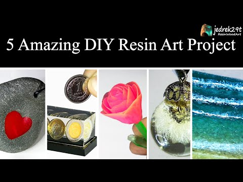 5 MOST Amazing DIY Ideas from Epoxy RESIN. SIMPLE Tutorial / Resin Art / Part 3 thumbnail